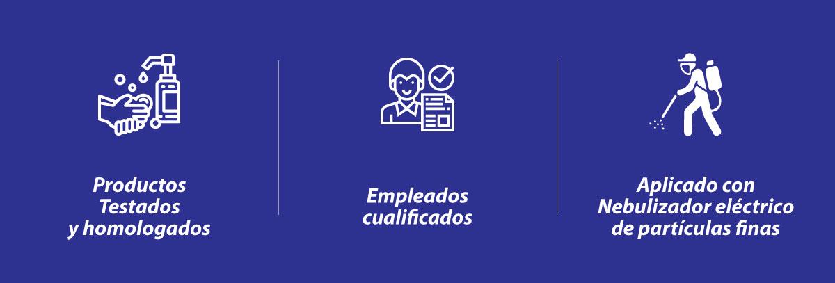 Servicio Profesional de Desinfección Covid-19 en Madrid